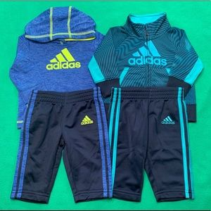 Baby Boy Adidas Outfit Bundle
